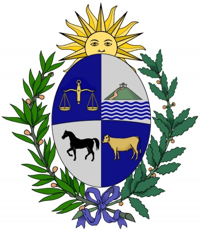 Escudo (armas) de National Arms of Uruguay