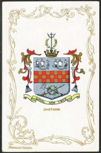 Arms (crest) of Chatham