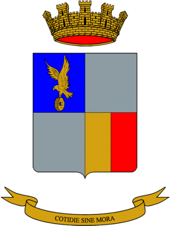 Coat of arms (crest) of the 3rd Army Aviation Support Regiment Aquila, Italian Army
