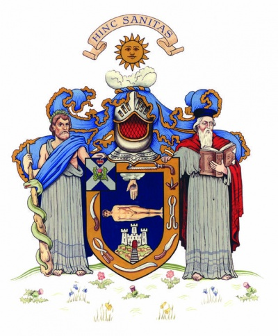 Arms of Royal College of Surgeons of Edinburgh