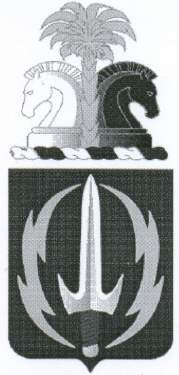 Coat of arms (crest) of the 3rd Psychological Operations Battalion, US Army