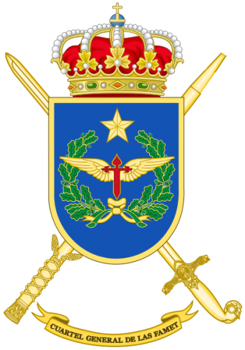 Coat of arms (crest) of the Army Airmobile Headquarters, Spanish Army