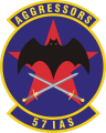 57th Information Agressor Squadron, US Air Force.png