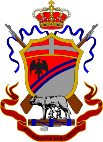 Coat of arms (crest) of the 79th Infantry Regiment Roma, Italian Army
