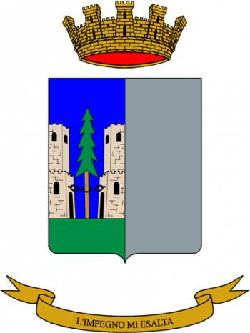 Coat of arms (crest) of the Cadore Logistics Battalion, Italian Army
