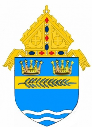 Arms (crest) of Diocese of Palm Beach