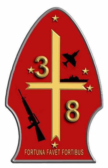 Coat of arms (crest) of the 3rd Battalion, 8th Marines, USMC