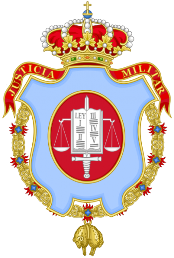 Coat of arms (crest) of the Military Jurisdiction, Spain
