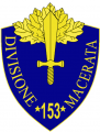 153rd Infantry Division Macerata, Italian Army.png
