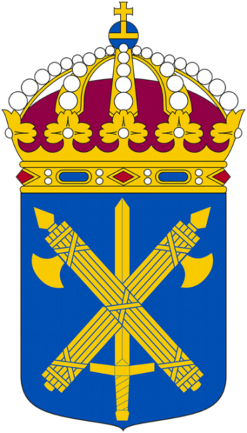 Coat of arms (crest) of the Military Police, Sweden