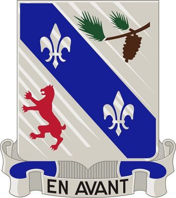 Arms of 321st (Infantry) Regiment, US Army