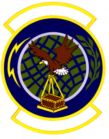 Coat of arms (crest) of the 46th Aerial Port Squadron, US Air Force