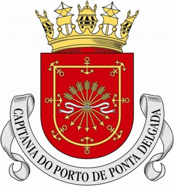 Coat of arms (crest) of the Harbour Captain of Ponta Delgada, Portuguese Navy