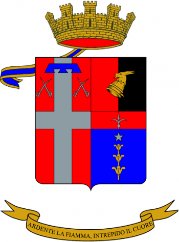 Coat of arms (crest) of the 21st Artillery Regiment, Italian Army