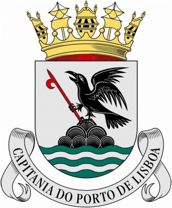Coat of arms (crest) of the Harbour Captain of Lisbon, Portuguese Navy