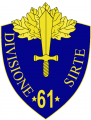61st Infantry Division Sirte, Italian Army.png