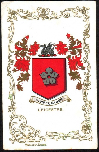 Arms of Leicester
