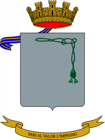 Coat of arms (crest) of the Mameli Logistics Battalion, Italian Army