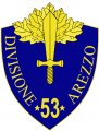 53rd Infantry Division Arezzo, Italian Army.png