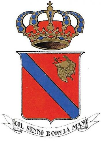 Coat of arms (crest) of the 9th Engineer Regiment, Italian Army