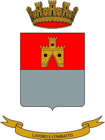 Coat of arms (crest) of the Friuli Logistics Battalion, Italian Army