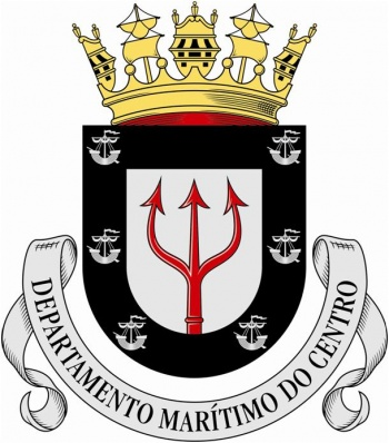 Coat of arms (crest) of the Central Maritime Department, Portuguse Navy
