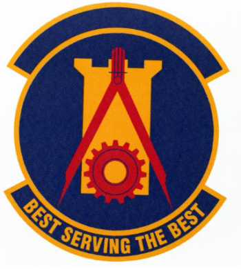 Coat of arms (crest) of the 14th Civil Engineer Squadron, US Air Force