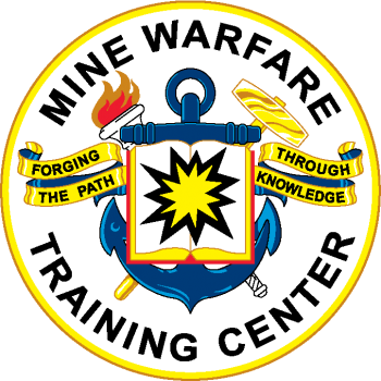 Coat of arms (crest) of the Mine Warfare Training Center, US Navy