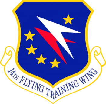 Coat of arms (crest) of the 14th Flying Training Wing, US Air Force