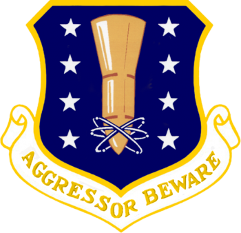 Coat of arms (crest) of the 44th Missile Wing, US Air Force