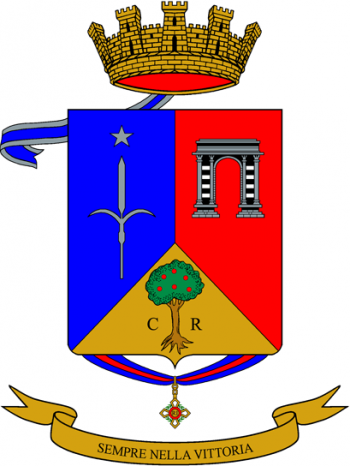 Coat of arms (crest) of the 235th Infantry Regiment Piceno, Italian Army
