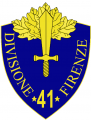 41st Infantry Division Firenze, Italian Army.png