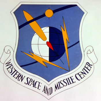 Coat of arms (crest) of the Western Space and Missile Center, US Air Force