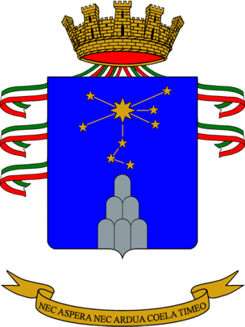 Coat of arms (crest) of the 4th Army Aviation Regiment Altair, Italian Army