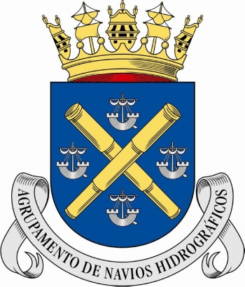 Coat of arms (crest) of the Hydrographic Ships Group, Portuguese Navy