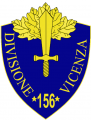 156th Infantry Division Vincenza, Italian Army.png