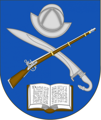 Coat of arms (crest) of the Introduction to Military History Course, Spanish Army