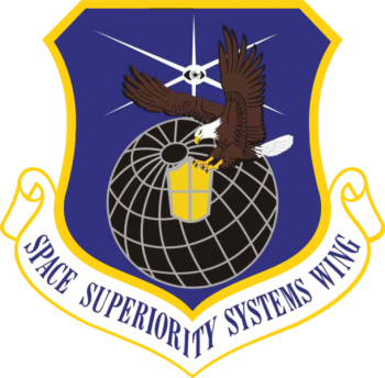 Coat of arms (crest) of the Space Superiority Systems Wings, US Air Force