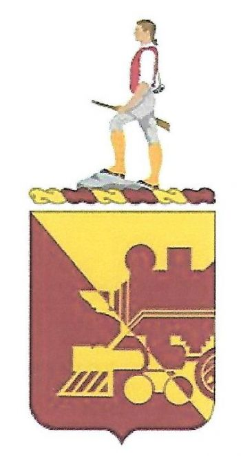 Arms of 729th Transportation Battalion, US Army