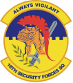 18th Security Forces Squadron, US Air Force.png