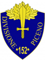 152nd Infantry Division Piceno, Italian Army.png