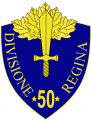 50th Infantry Division Regina, Italian Army.png