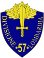 57th Infantry Division Lombardia, Italian Army.png