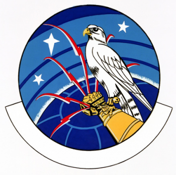Coat of arms (crest) of the 1876th Communications Squadron, US Air Force