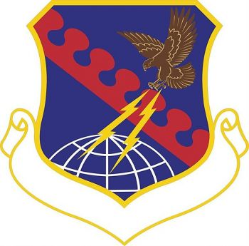 Coat of arms (crest) of the 603rd Air Operations Center, US Air Force