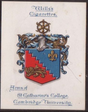 Arms of St Catharine's College (Cambridge University)