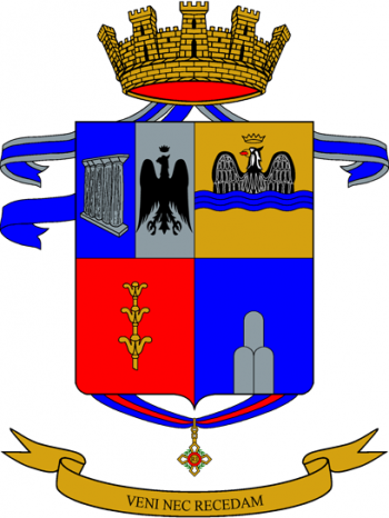 Coat of arms (crest) of the 92nd Infantry Regiment Basilicata, Italian Army