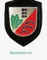 Jaeger Battalion 651, German Army.png