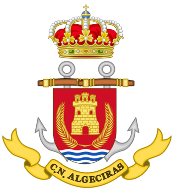Coat of arms (crest) of the Naval Command of Algeciras, Spanish Navy