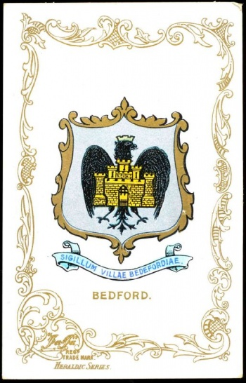 Arms (crest) of Bedford